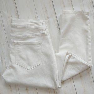 OLD NAVY Skinny White Diva Jeans Size 8